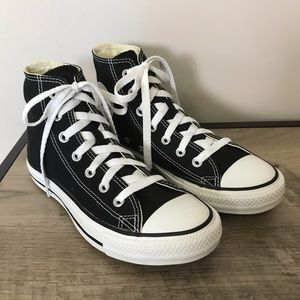 CONVERSE All Star CHUCKS High Top BLACK Sneakers